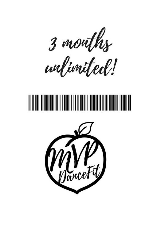 3 Months Unlimited!