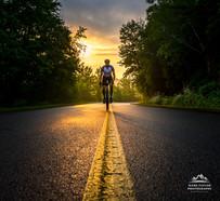 Intense Cycling Sunrise