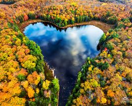 Autumn Heart Lake
