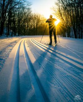 Skis, Snowflakes and Sunbeams