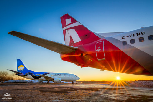 Two Arctic Airlines, Merge Into One