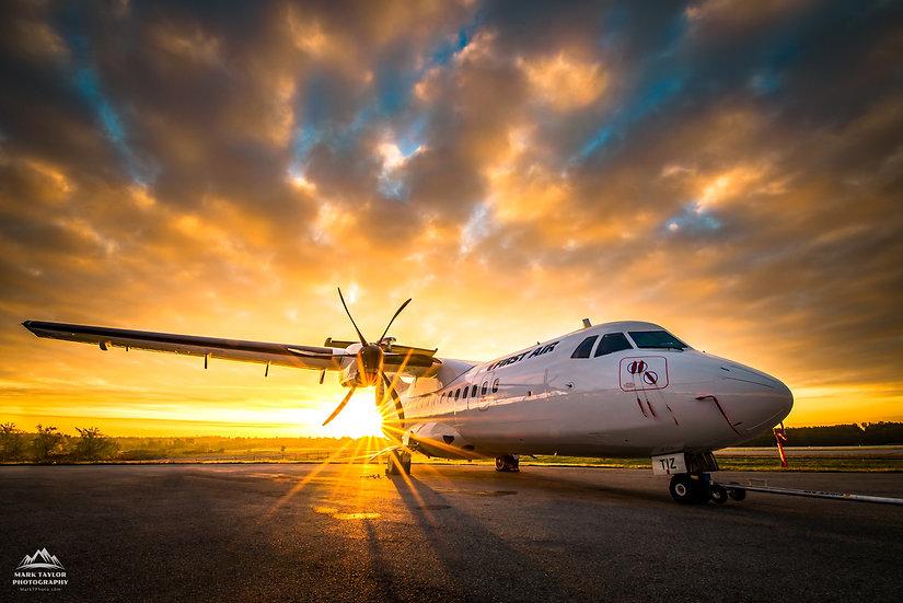 Print P4-010 - ATR42-500 Rise and Shine
