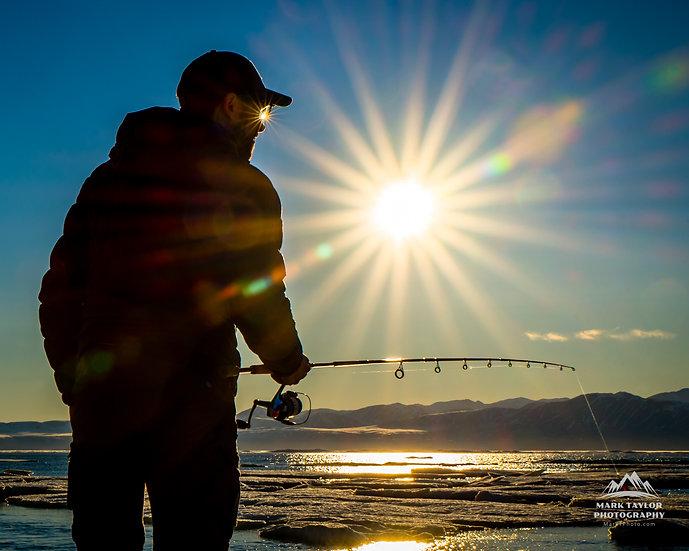 Print 1-010 - Fishing Under the Midnight Sun