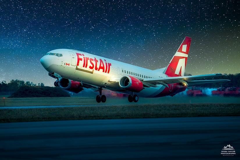 Print P4-015 - Night Flight