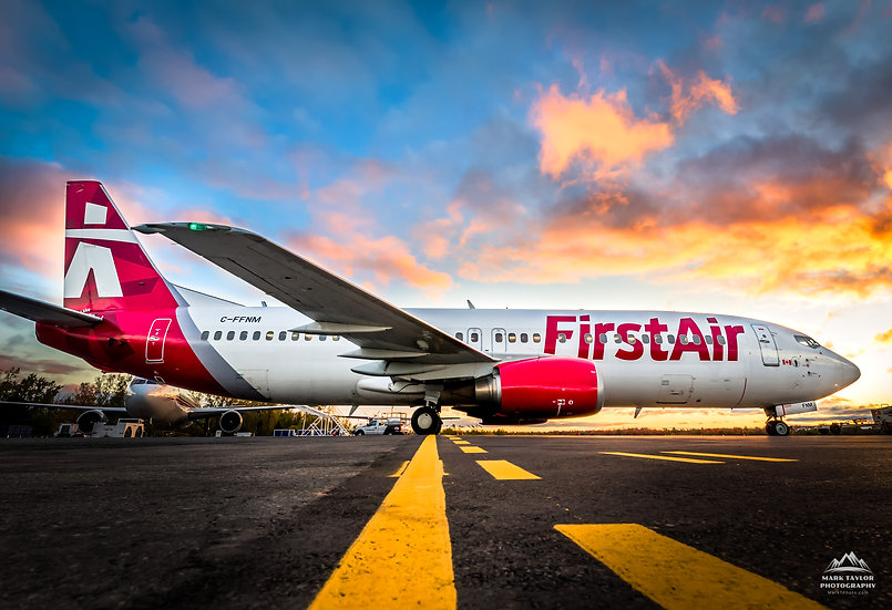 Print P4-004 - First Air's Fresh Rebrand of Their Fleet in 2017