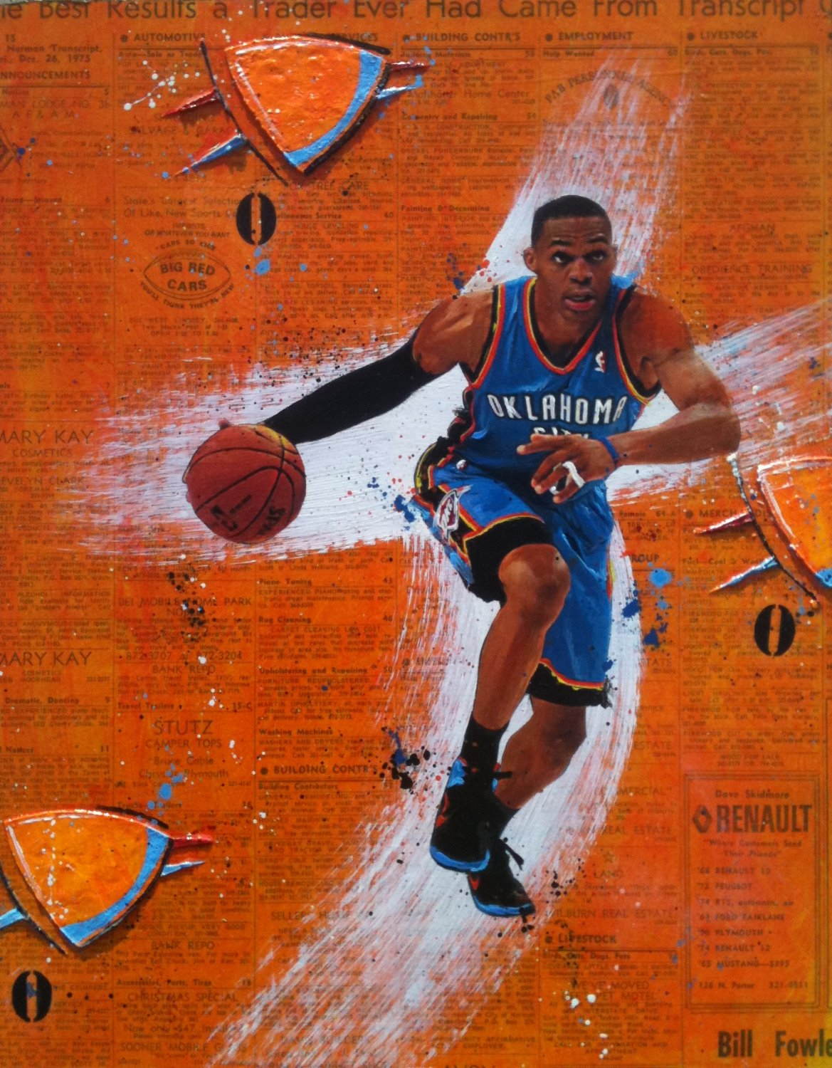 0 (Russell Westbrook)