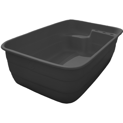Бассейн на даче 1300 литров черный