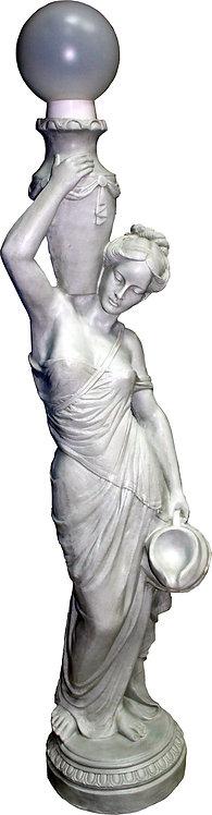 Фигура садовая - фонарь Девушка с кувшином