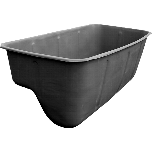 Бассейн на даче 3100 литров черный