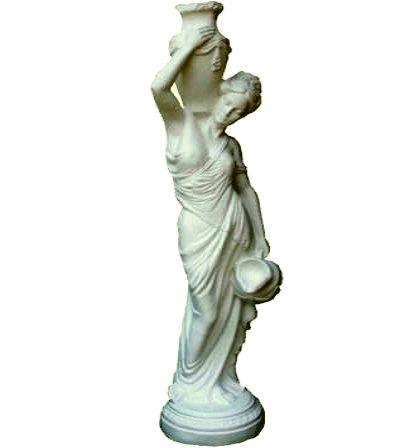 Фигура садовая Девушка с кувшином