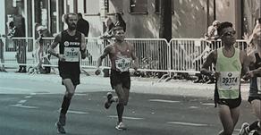 Jonas Plass runs the Berlin Marathon 2018