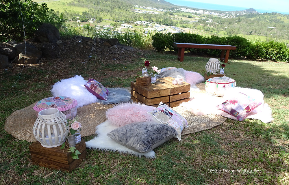 Divine Weddings Whitsundays - Rustic Picnic