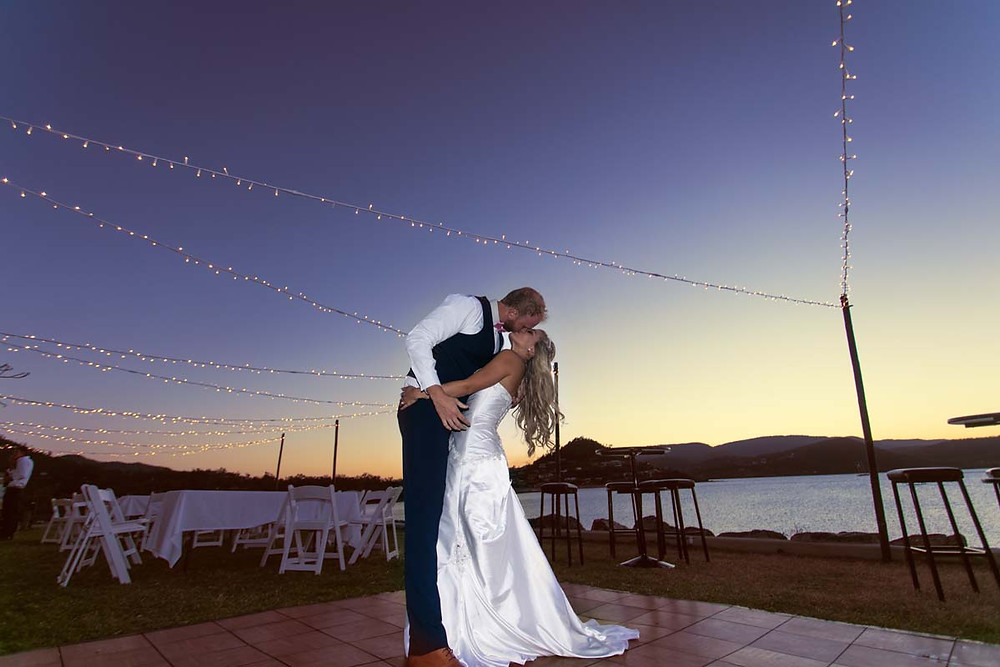 Andrew & Kayla Leigh - Whitsunday Marine Club - Sunset