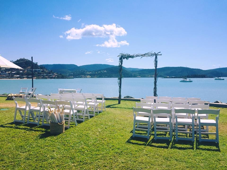 Divine Ceremony - Whitsunday Marine Club Lawn