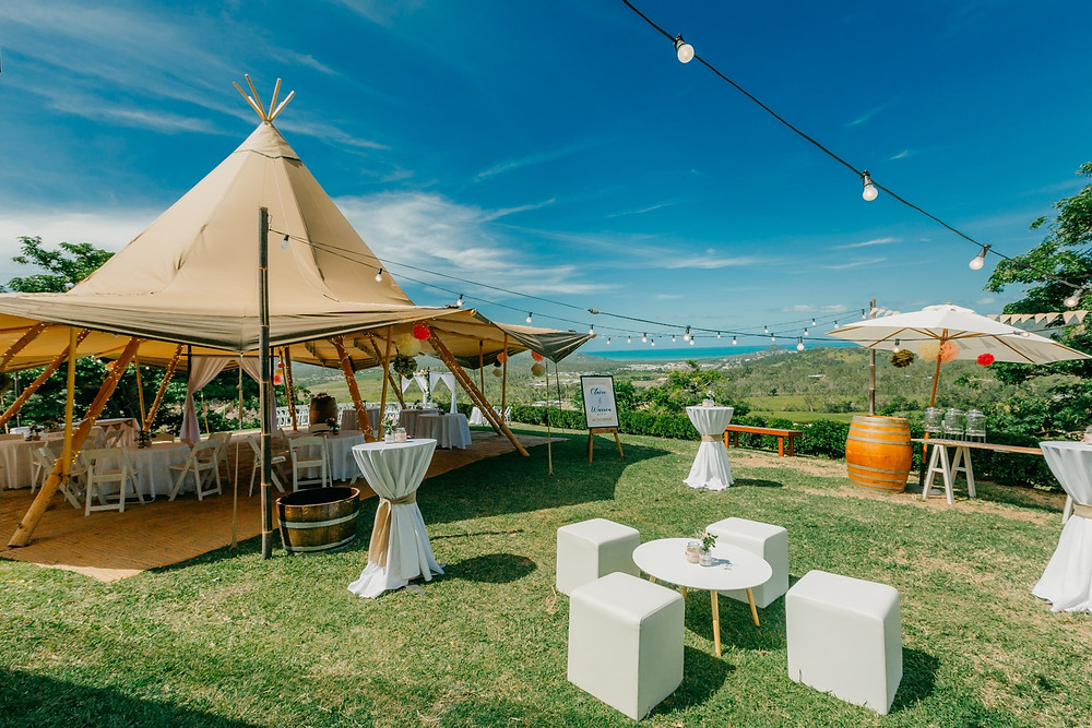 Divine Weddings Whitsundays - Teepee- Pepperberry House