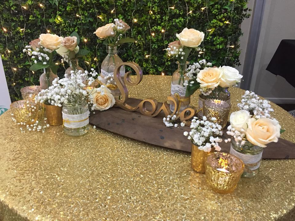 Divine Weddings Whitsundays - Rustic Golds