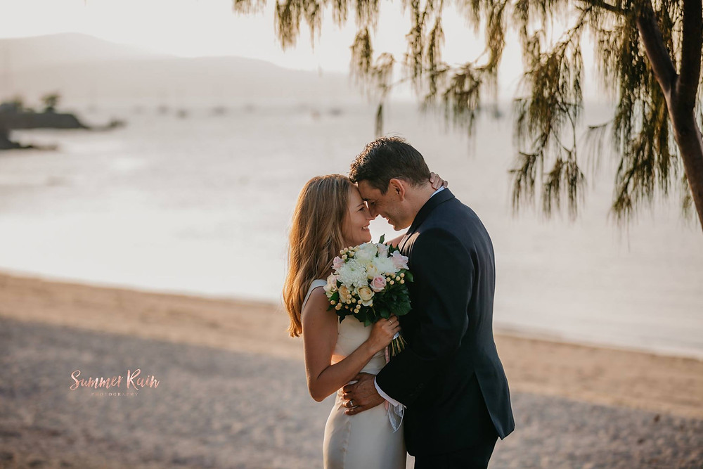Boathaven Beach - Michael and Sabine Horeau - Divine Weddings Whitsundays