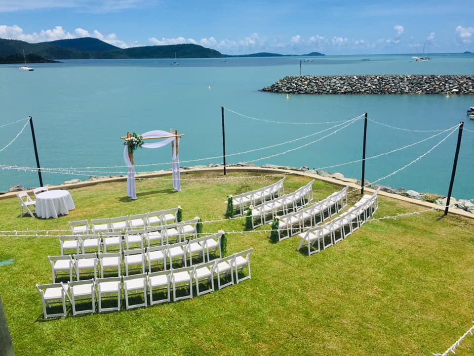 Whitsunday Marine Club Wedding Ceremony