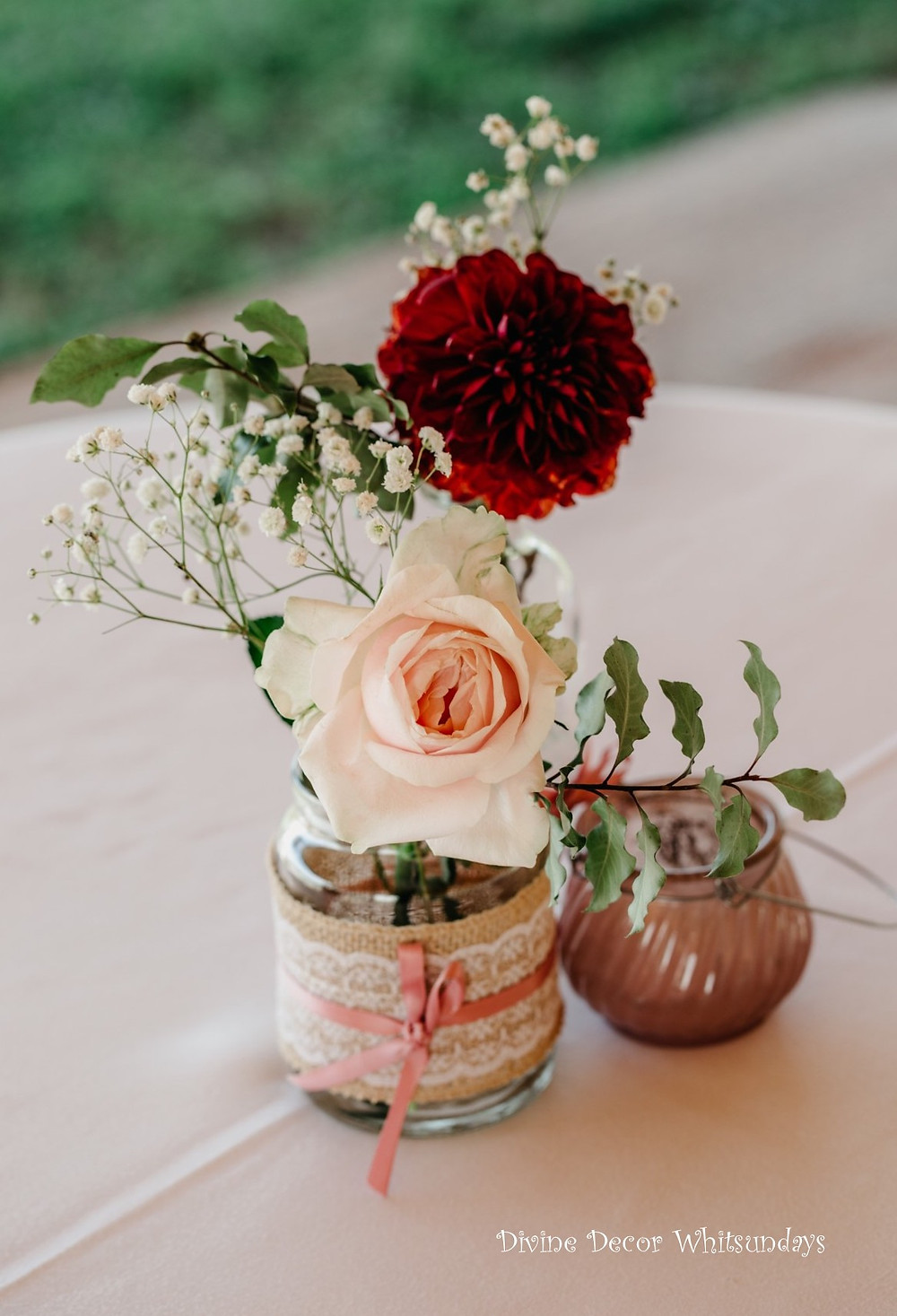 Divine Weddings Whitsundays - Rustic Florals