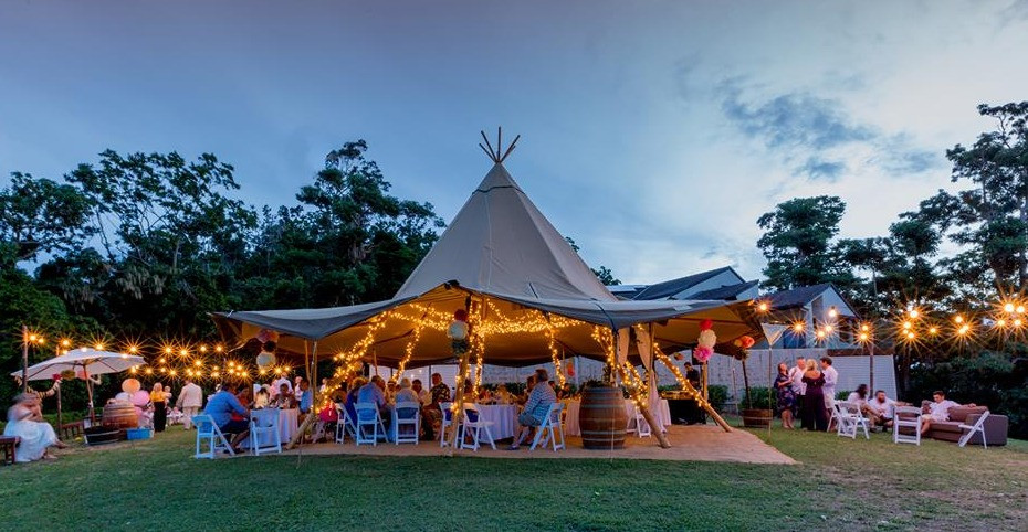 Divine Weddings Whitsundays - Teepee - Pepperberry House