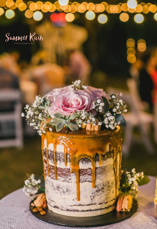 Gorgeous wedding cake by Copper Crazy Cakes
