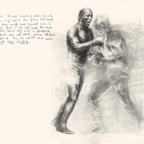 Page from Invisible Champion: Jack Johnson