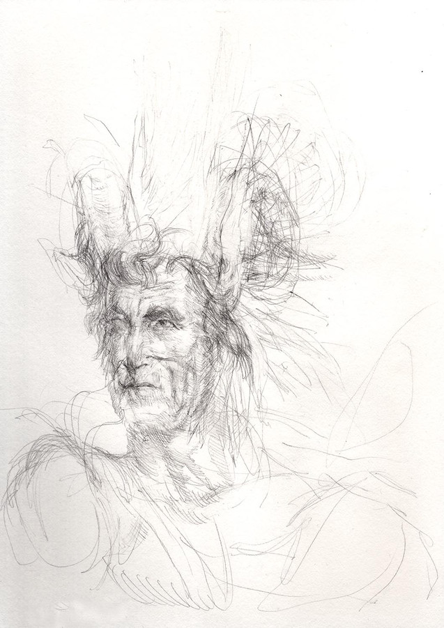 Study for Ares (Old Hickory)