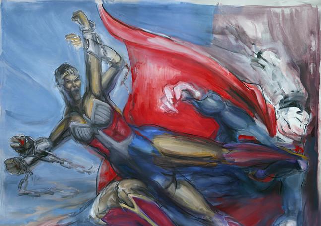 Battle for America (Superman v Wonder Woman)