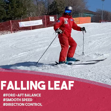 Fun Ski Drills: Falling Leaf