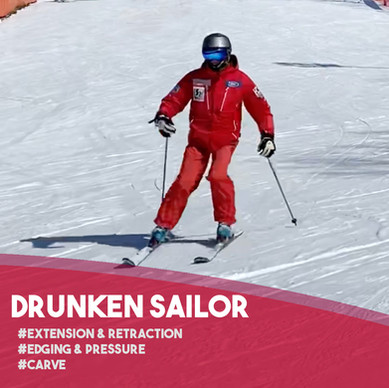 Fun Ski Drills: Drunken Sailor