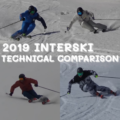 Which Ski Style is the Coolest? : Interski Technical Comparison