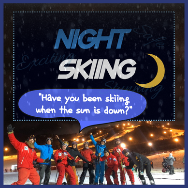Night Skiing in South Korea: Safe, Exciting, and Stunning
