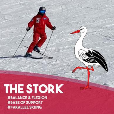 Fun Ski Drills: Stork