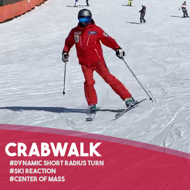Fun Ski Drills: CrabWalk