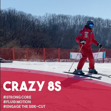 Fun Ski Drills: Crazy8s