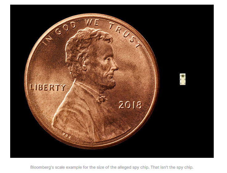 Not the acutal Super micro chip, just a scale portrayal