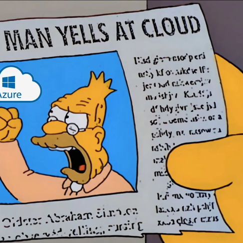 The Biggest Single Point of Failure in Human History - a Cloud