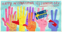 World Left Handers Day