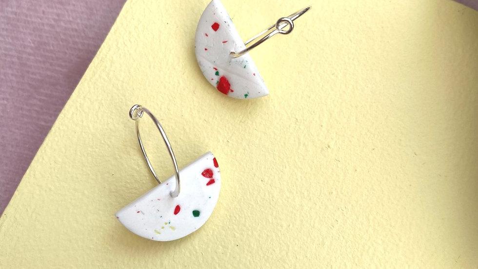 Kelly hoop earrings