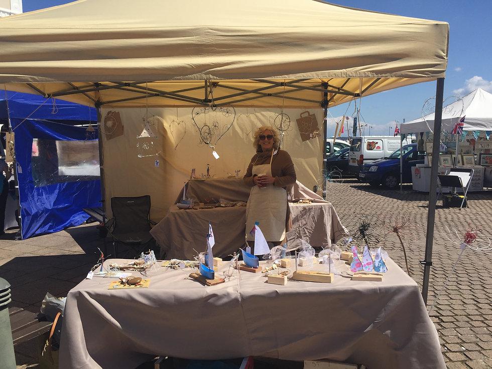 Jan at local craft fair