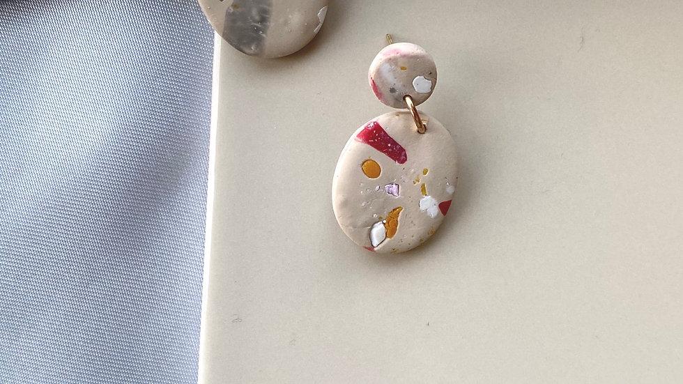 Oval Wintumn earrings