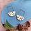 Thumbnail: Darlene hoop earrings
