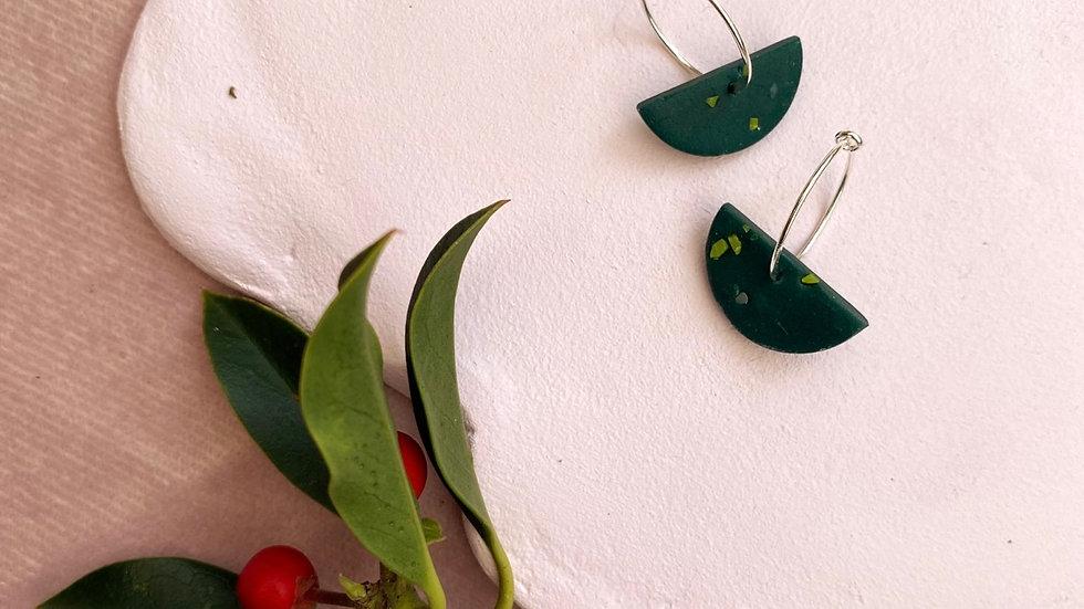 Destiny hoop earrings