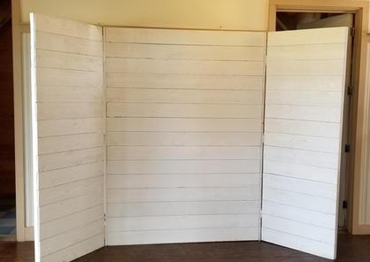 Wood White Backdrop
