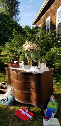 Dark Wood Rustic Dresser