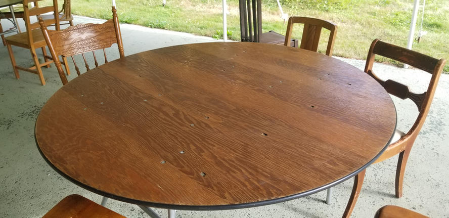 """5ft (60"""") Round Tables"""