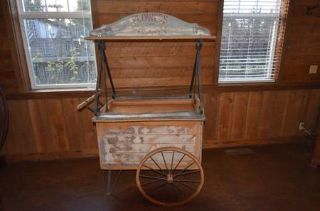 Antique Flower Cart