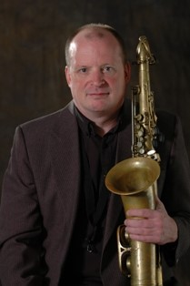Mike West, saxophone clarinet flute