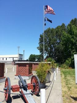 Scio Veterans Memorial in Summer